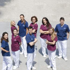 Equipo Clínica Dental Avanzada Fernández de Rota en Málaga